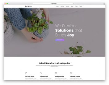 Agency Free Agency Website Template
