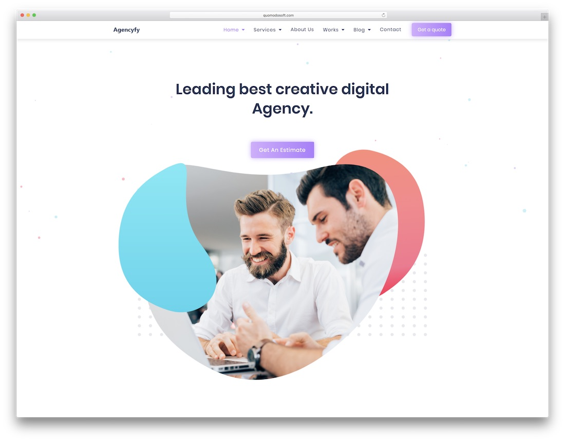 agencyfy marketing website template