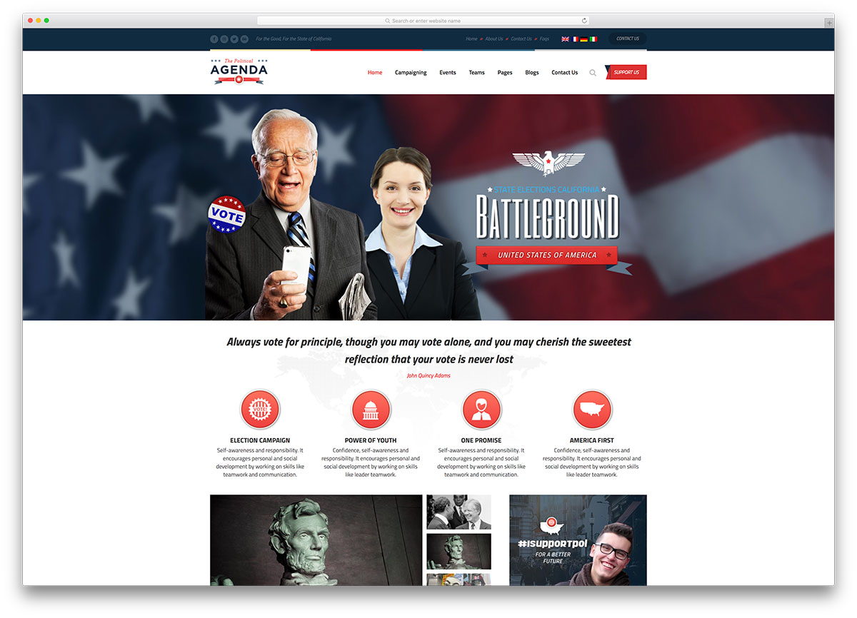 agenda-classic-political-wordpress-theme