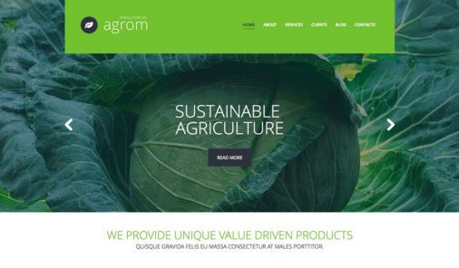 Agriculture  Themes For WordPress