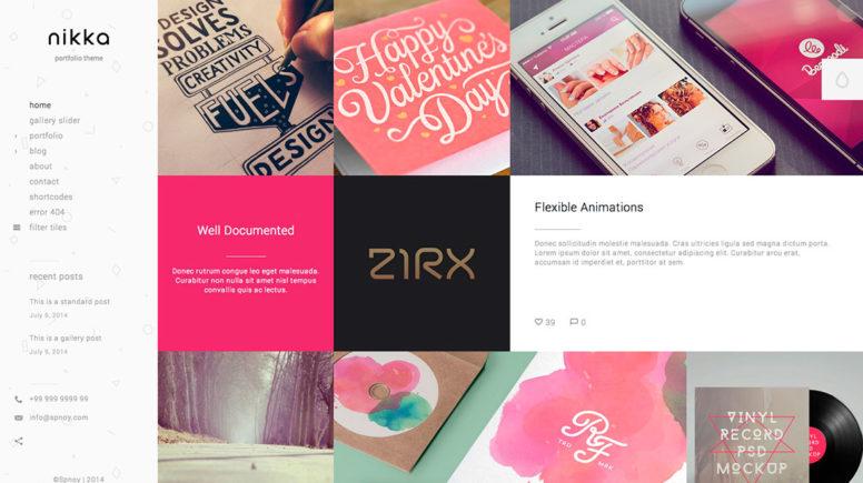 Ajax WordPress Portfolio Themes