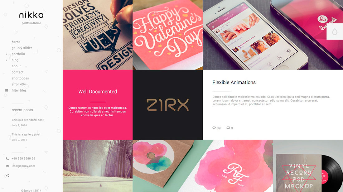 20 Best AJAX Powered WordPress Creative Portfolio Themes 2014