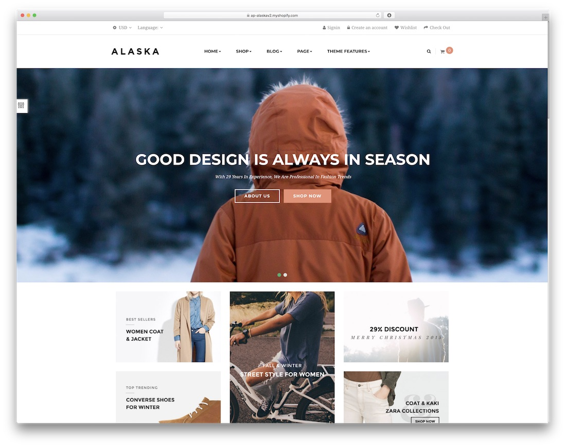 alaska best shopify theme