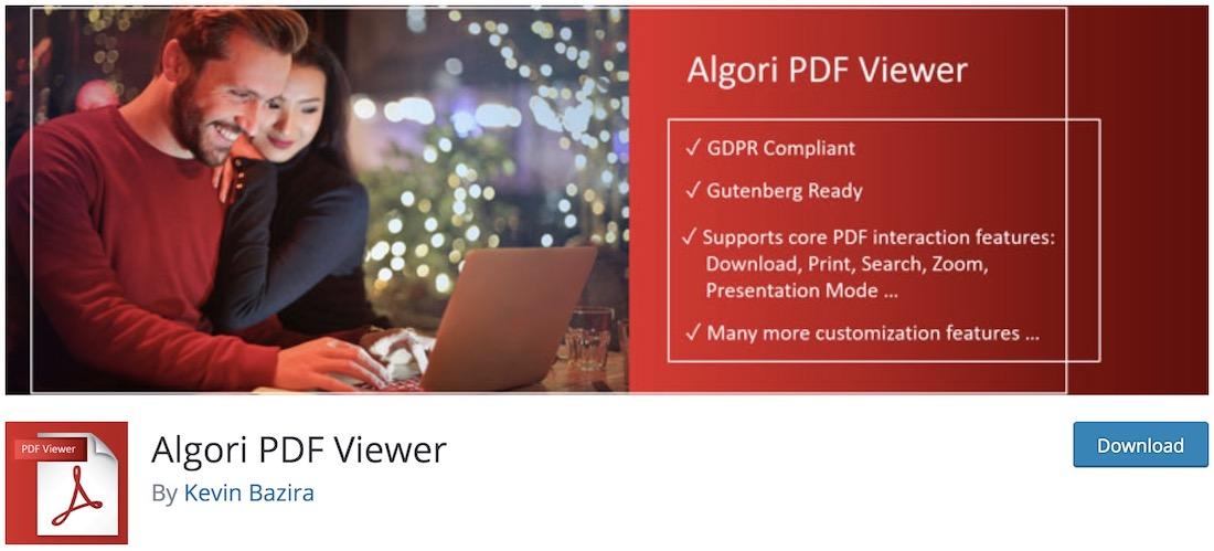 algori pdf viewer
