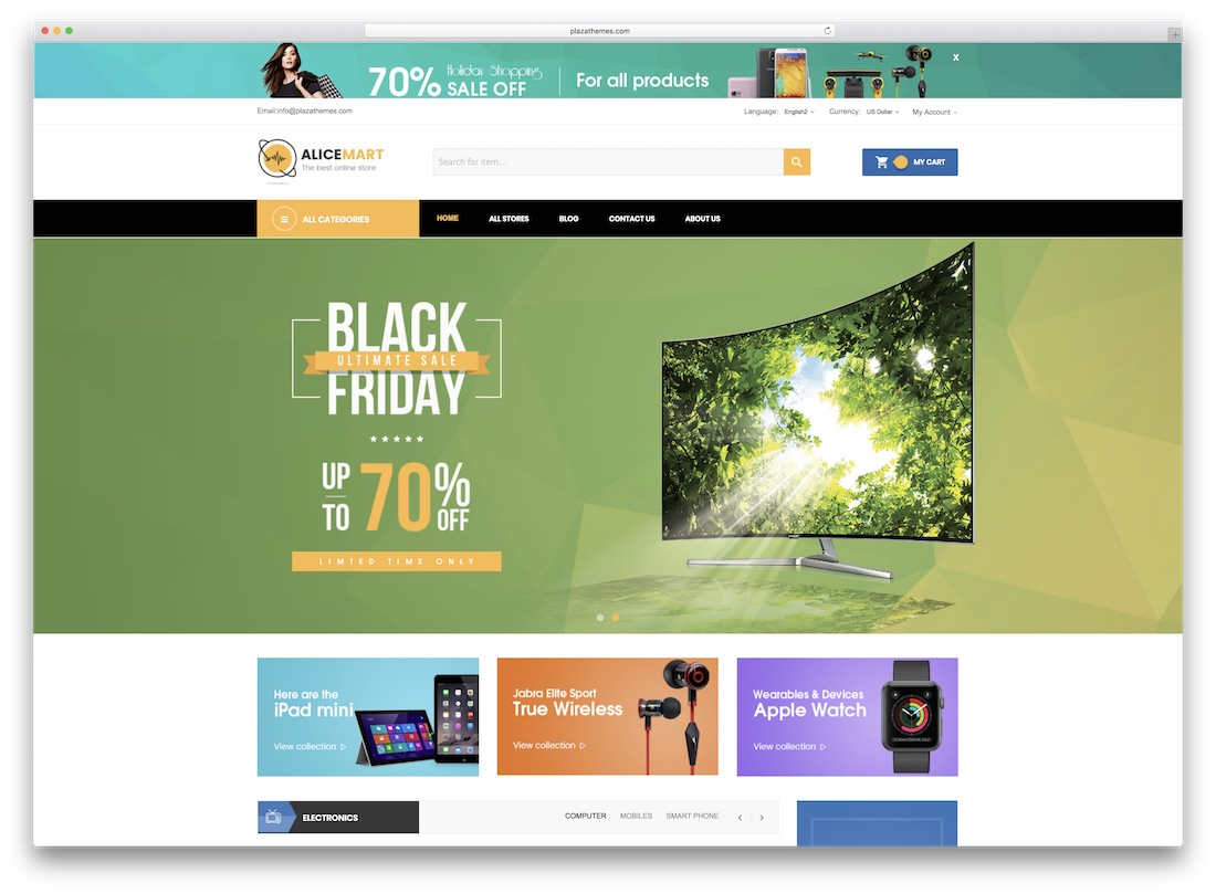 alice magento technology theme
