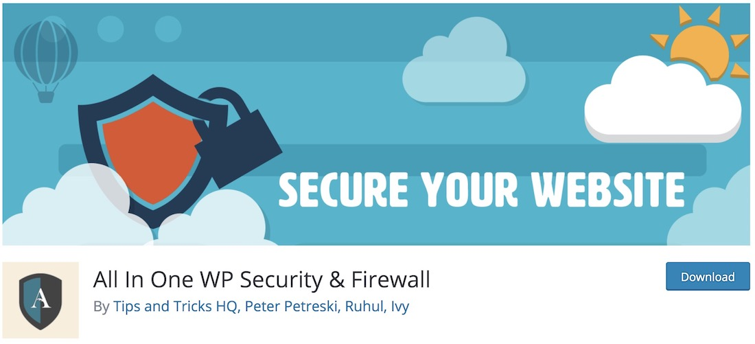 all in one wp security and firewall essential wordpress plugin