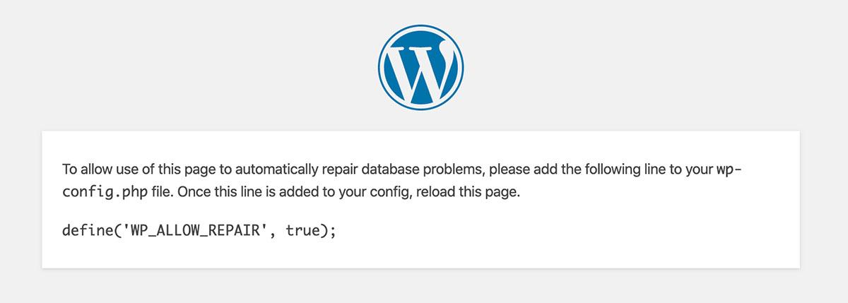 , Fix the Establishing a WordPress Database Connection Error, Rojak WP