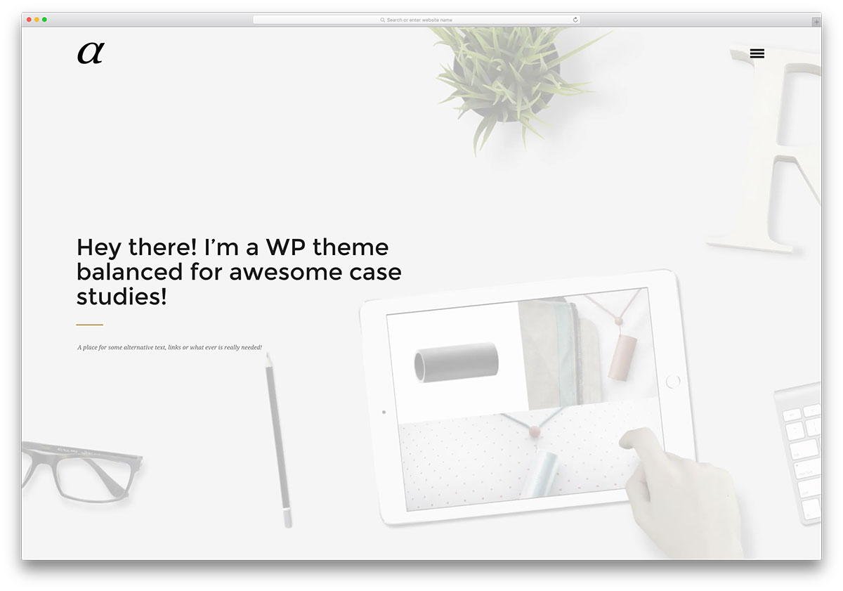 alpha-fullscreen-portfolio-wordpress-theme