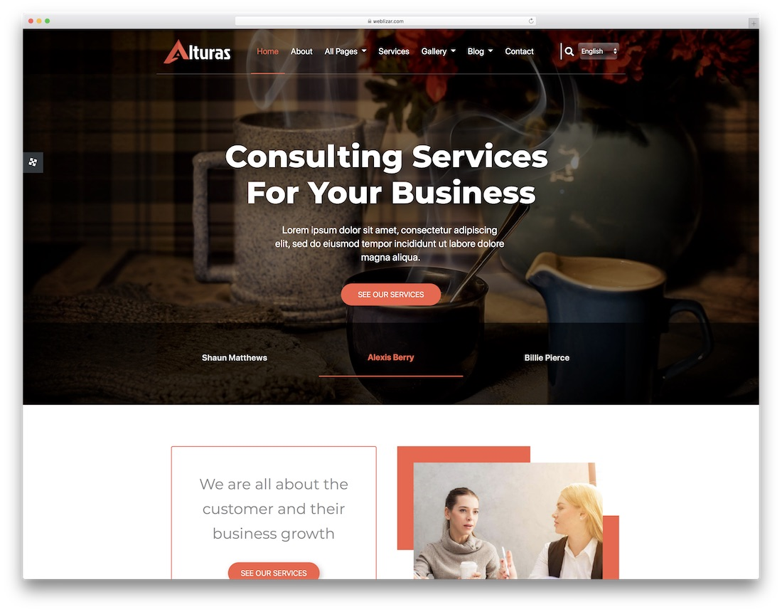 alturas cheap website template