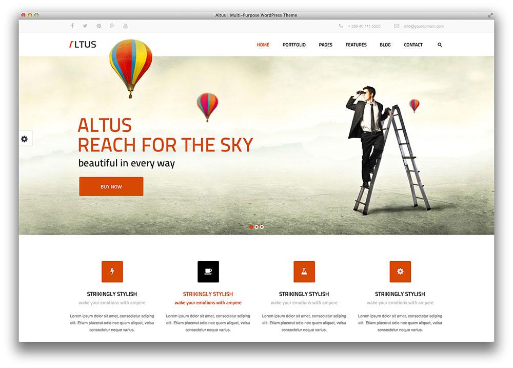 Altus Multipurpose theme