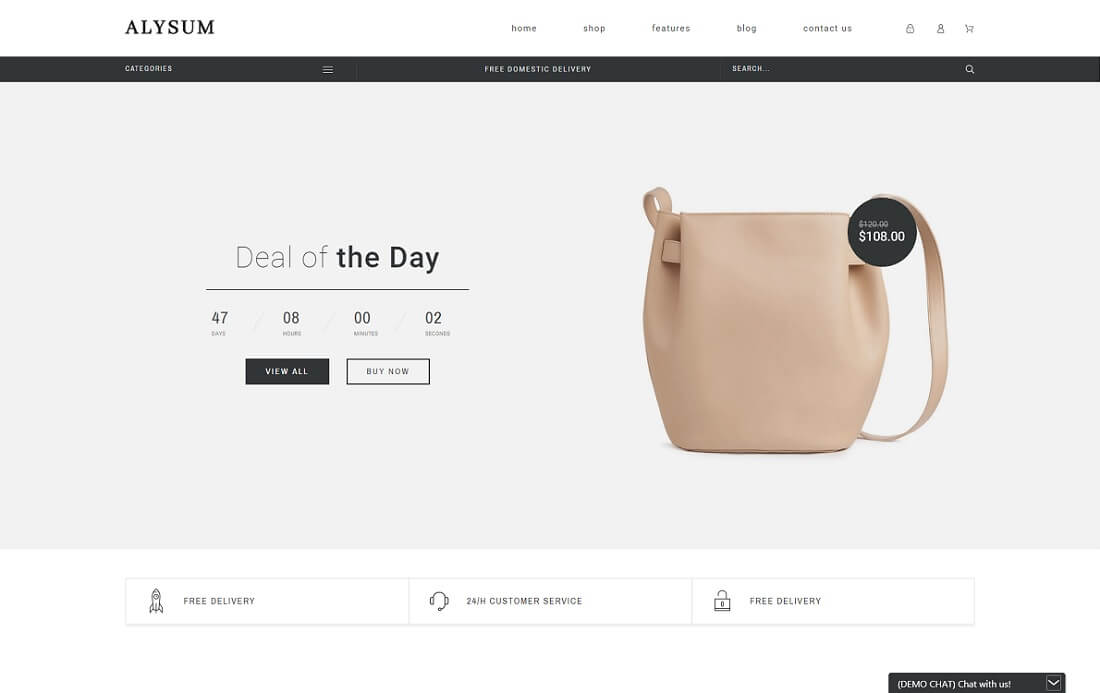 alysum prestashop theme