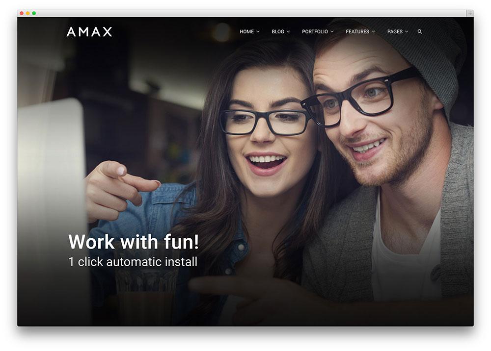 amax multipurpose wp theme