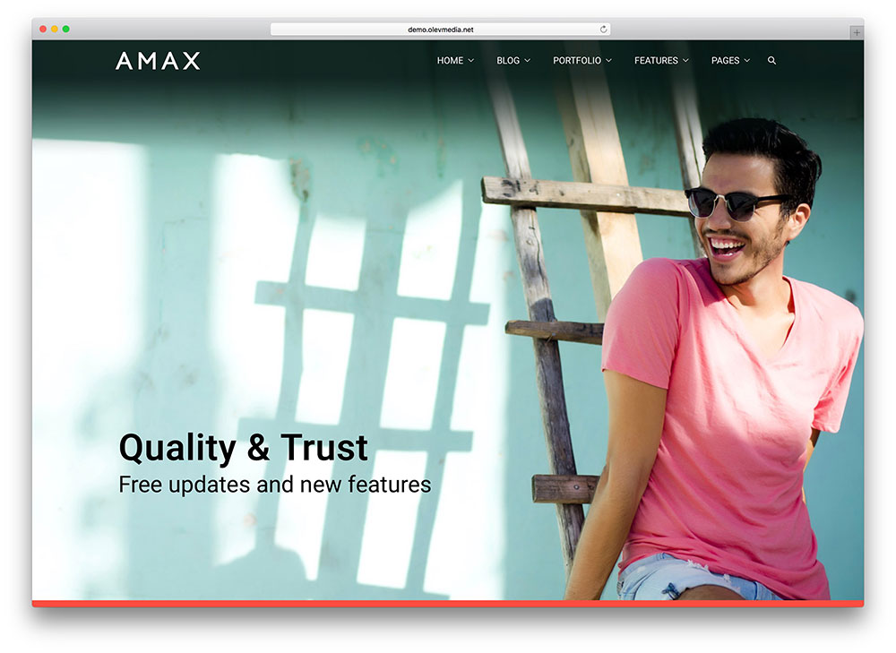 amax - fullscreen business theme