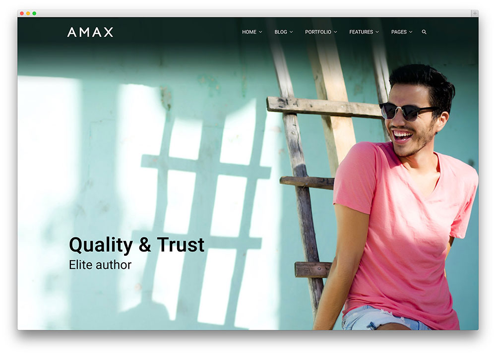 amax - professional multipurpose theme