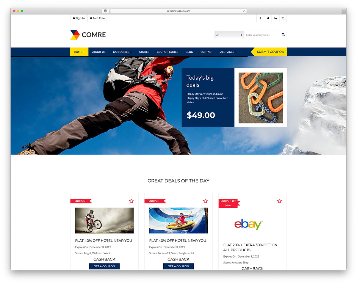 amazon affiliate WordPress theme