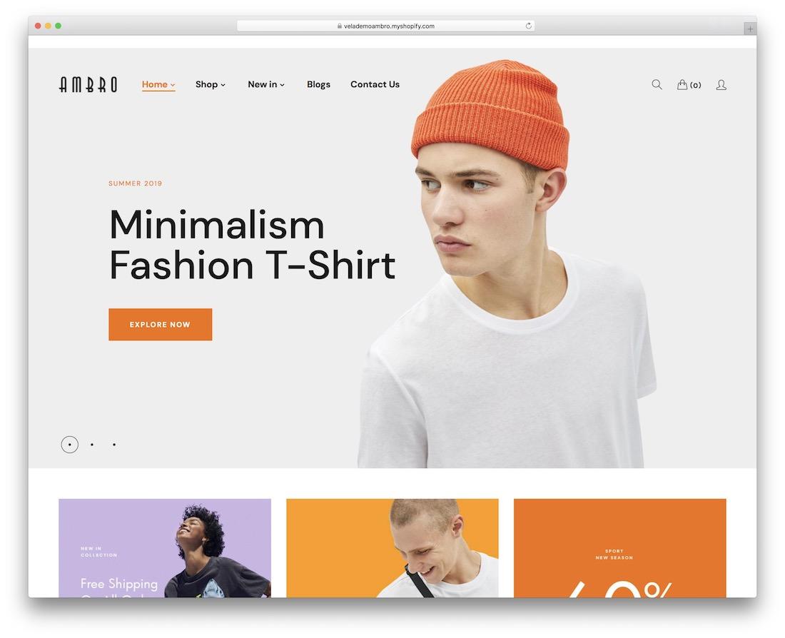 ambro fashion shopify theme