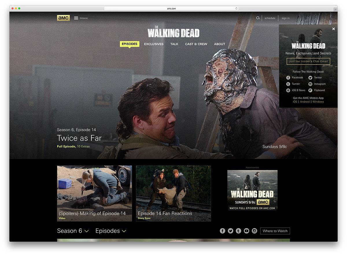amc-entertainment-wordpress-site-example