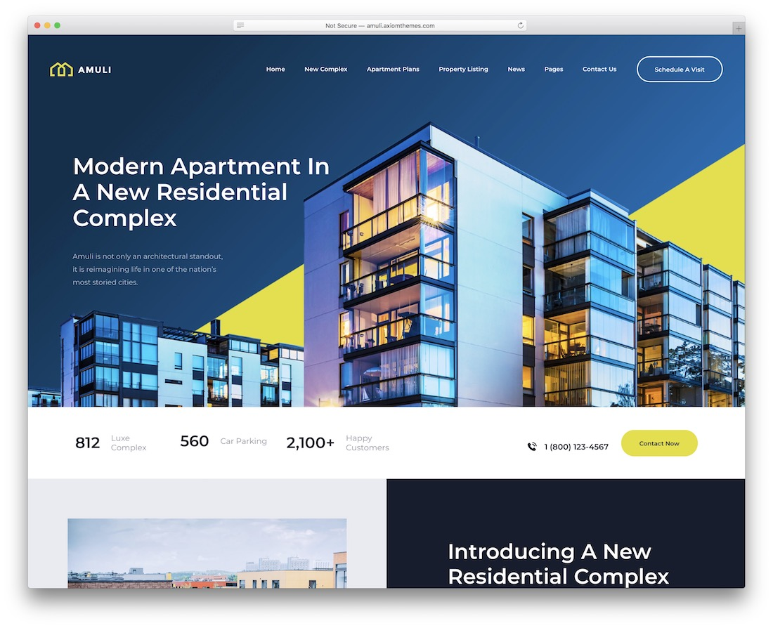 amuli single property wordpress theme
