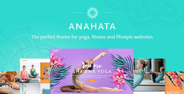 Anahata - A Yoga, Fitness and Lifestyle Theme