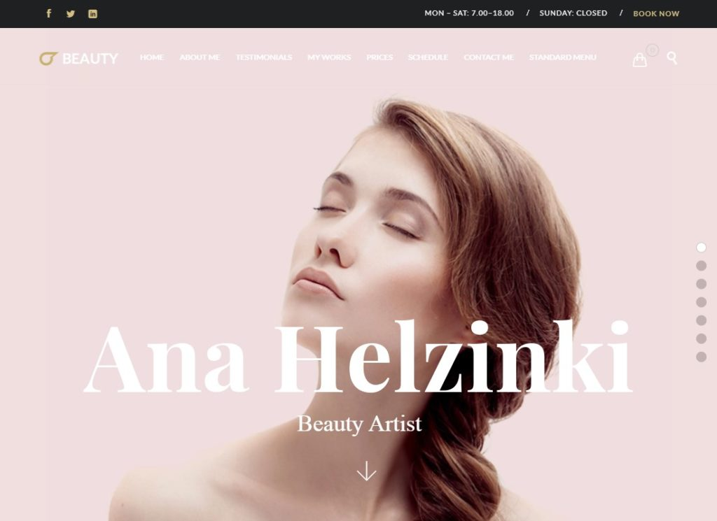 Hair Salon | Hairdresser WordPress Theme