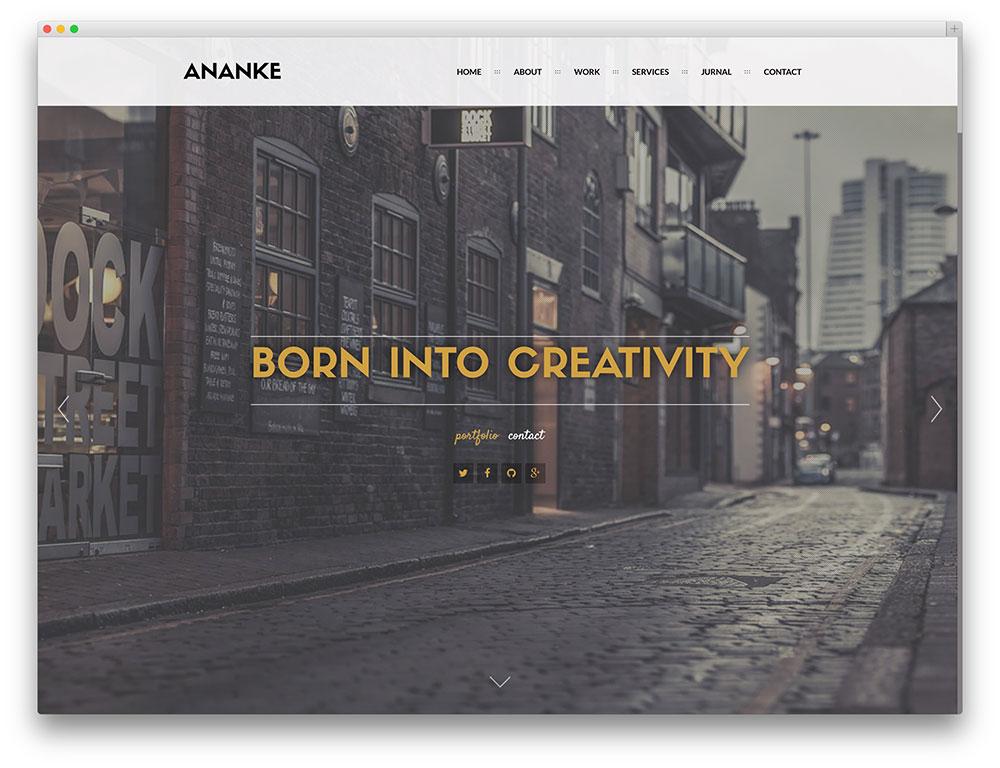 Artists Portfolio WordPress Themes