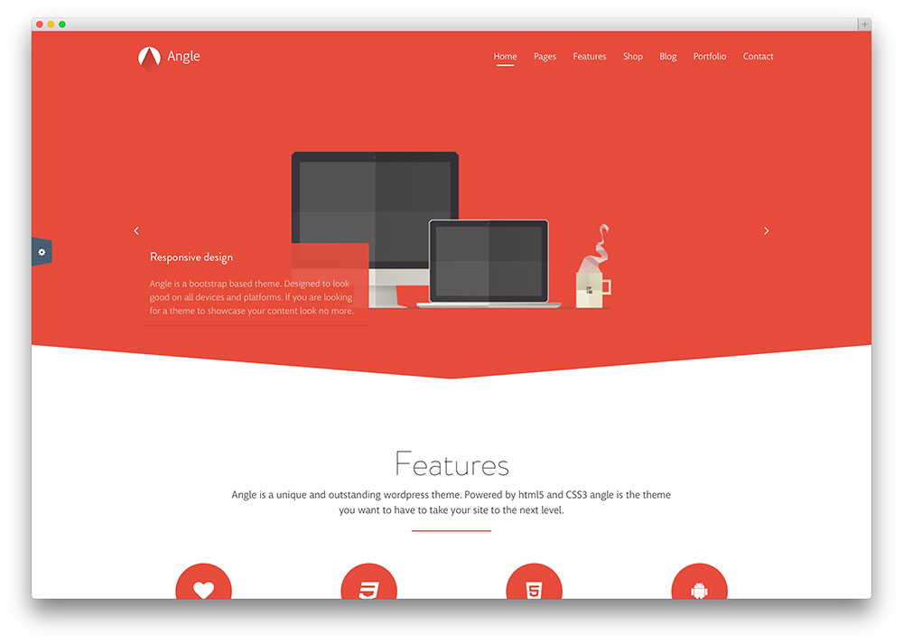 angle - creative wordpress business theme