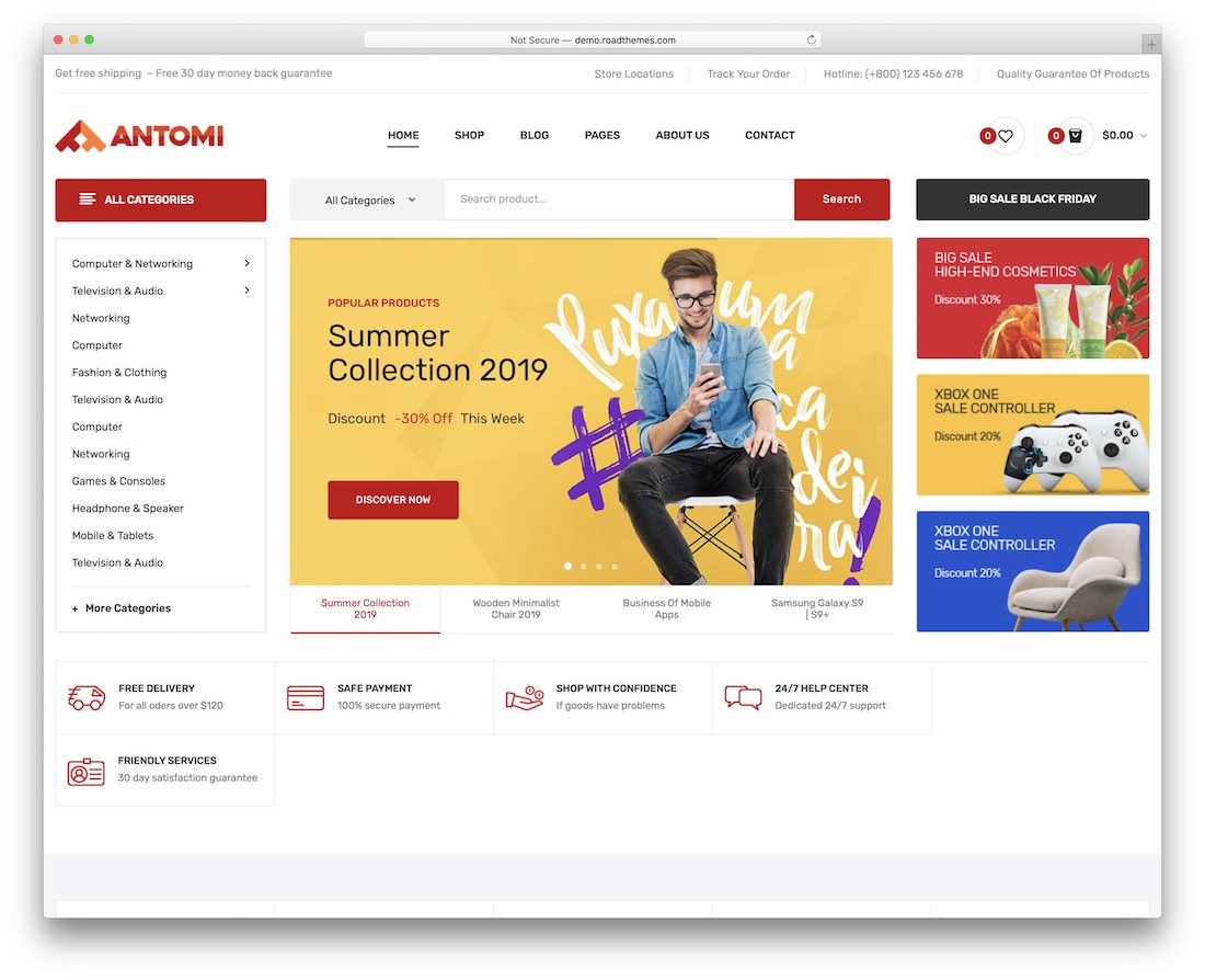 antomi wordpress theme