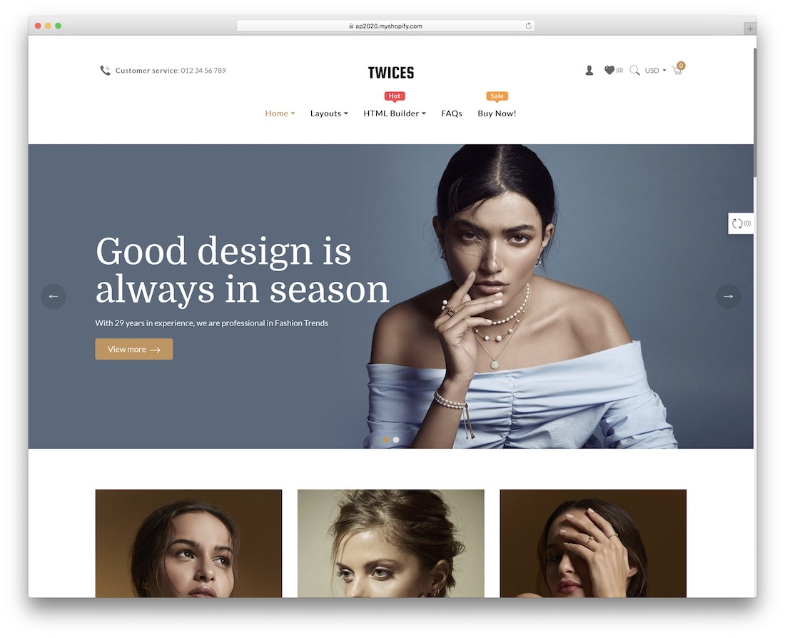 ap twices shopify jewelry theme