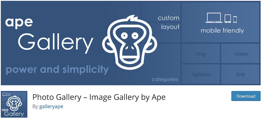 ape gallery wordpress plugin