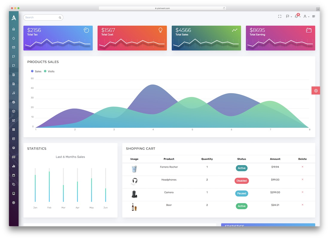 apex angularjs admin template