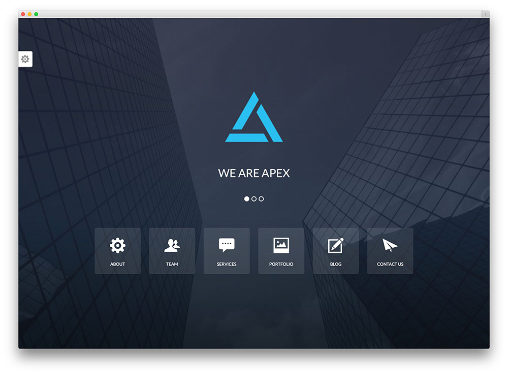 apex creative agency wordpress theme