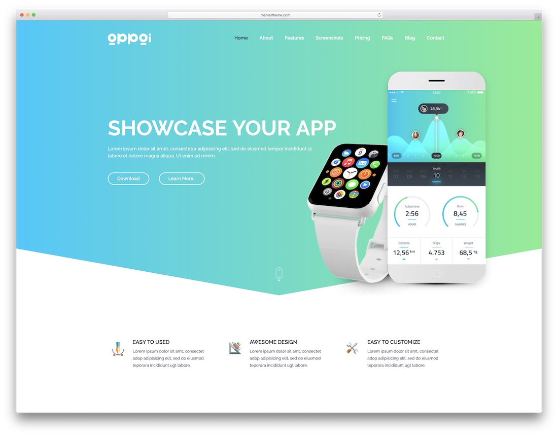 appai technology website template