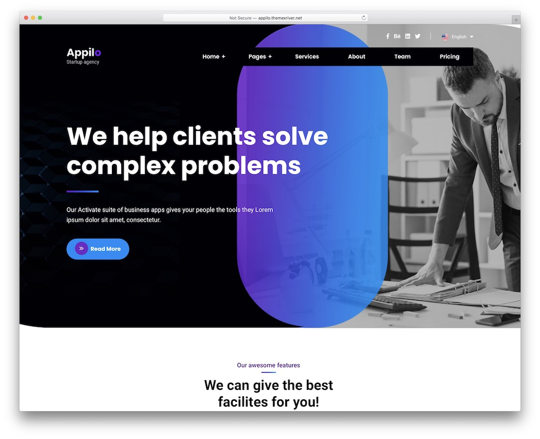 appilo wordpress theme