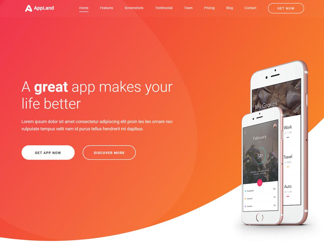 appland-interactive-website-templates