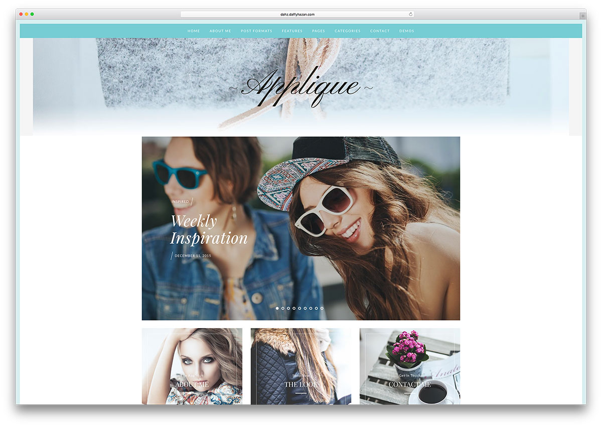applique-simple-wordpress-fashion-blog-theme