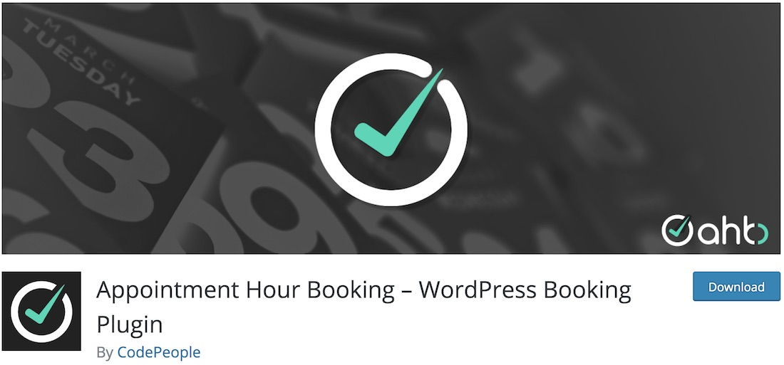 appointment hour booking free wordpress plugin