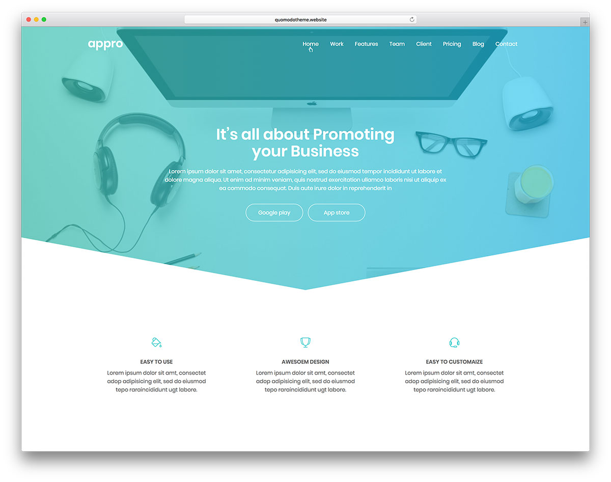 Ro Is An Amazing WordPress Template Designed Using Html5 And Css3 Language Its Building Process Was Based On Bootstrap Framework Making It Easy To Use