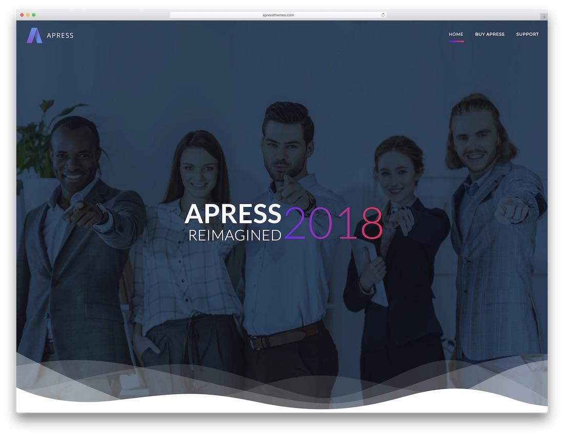 apress cheap wordpress theme