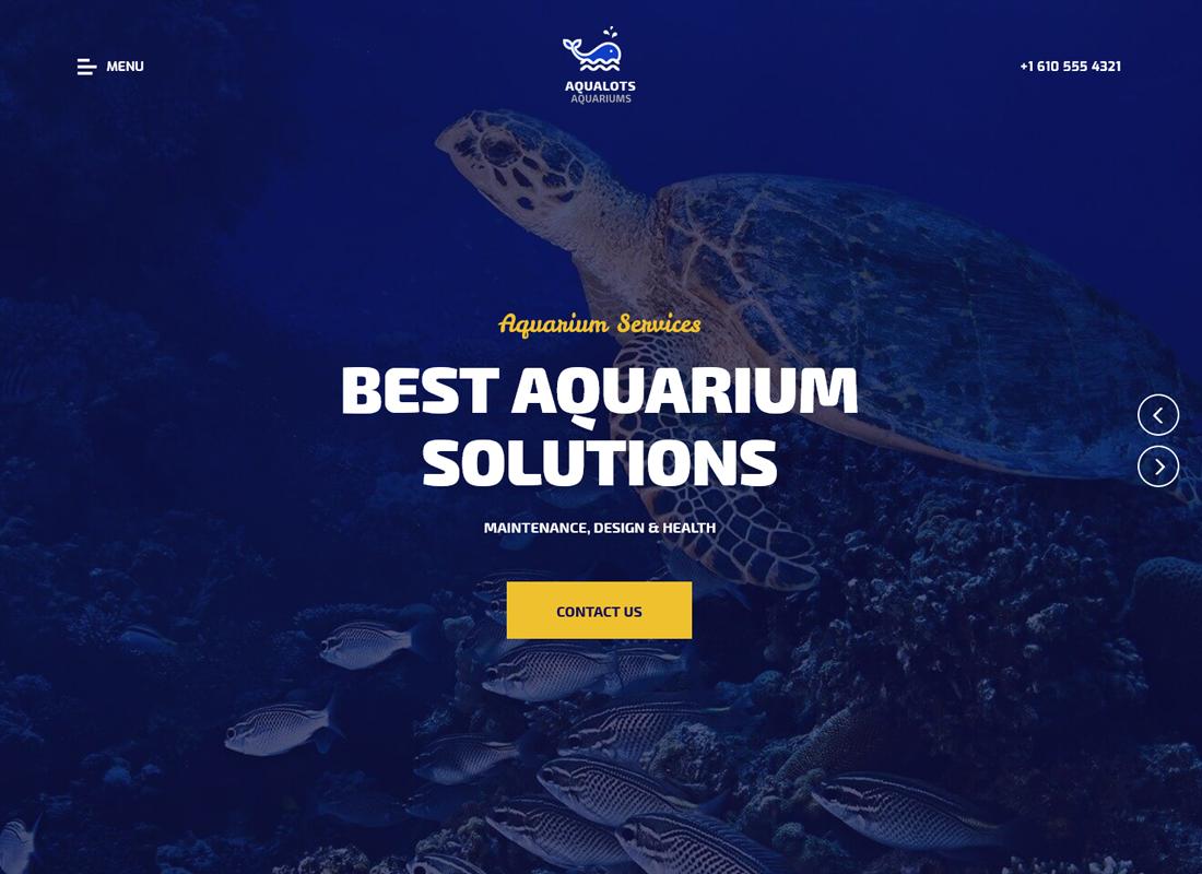 aqualots-aquarium-services-wordpress-theme