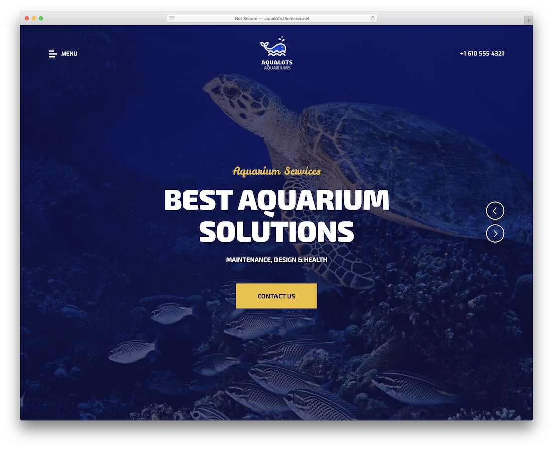 aqualots wordpress fishing theme