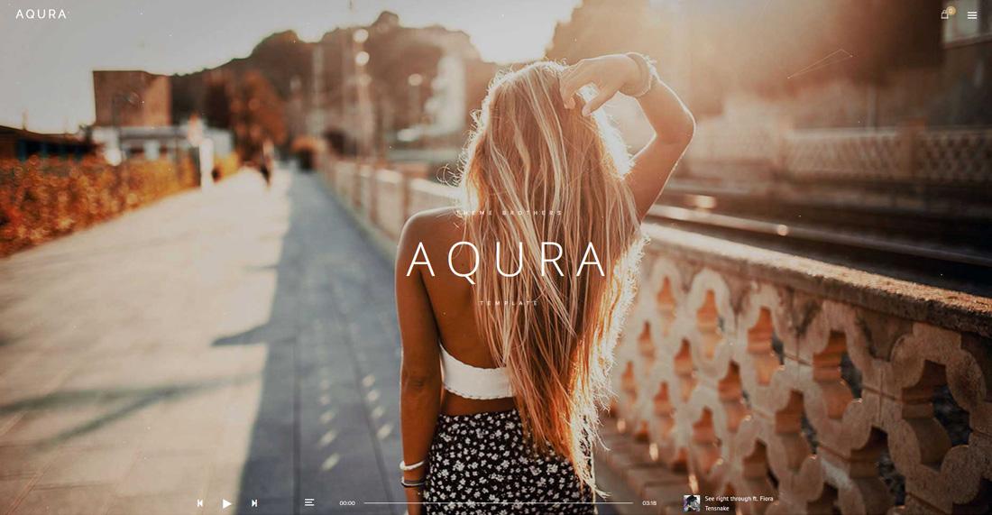 aqura-bootstrap-music-templates