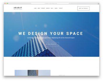 Ararat Free Template