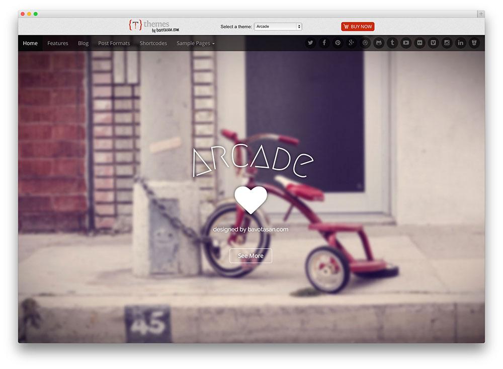 arcade Bootstrap theme