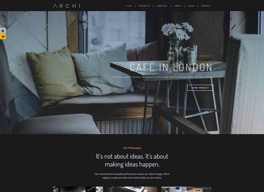 Archi | Interior Design WordPress Theme