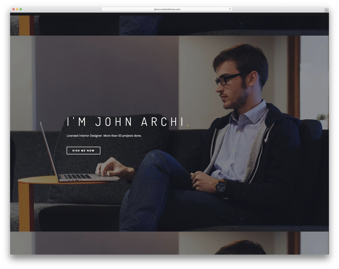 archi mobile-ready joomla portfolio template