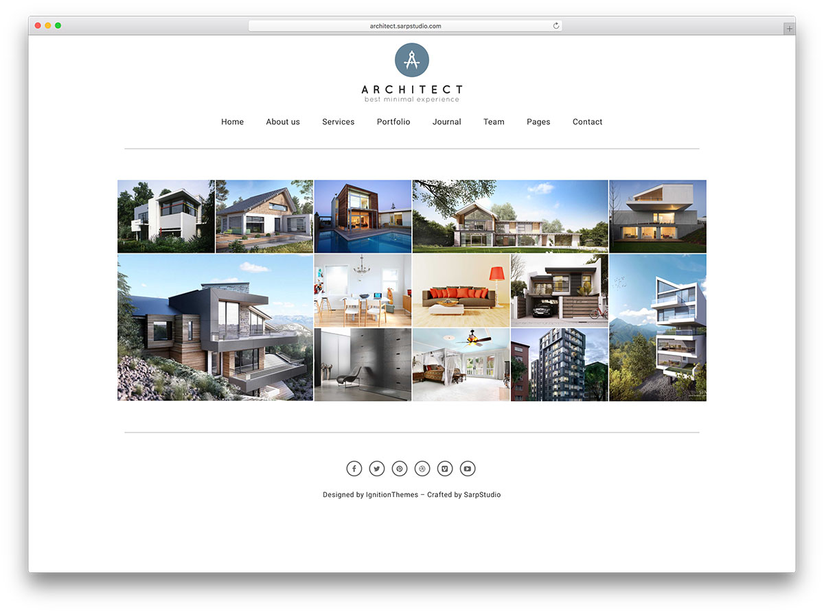 architect-minimal-portfolio-website-template