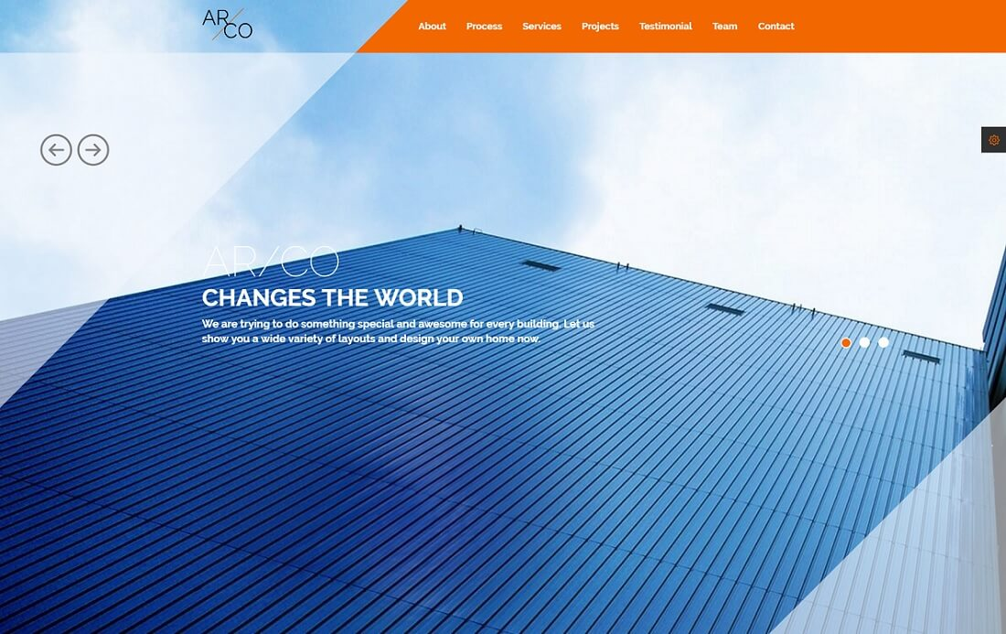 arco HTML construction company template