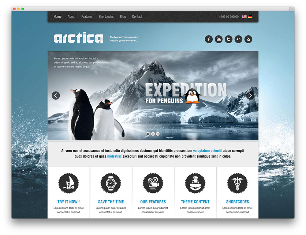 arctica vintage adventures theme