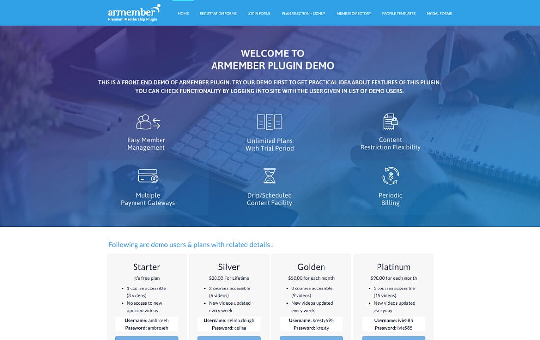 armember plugin