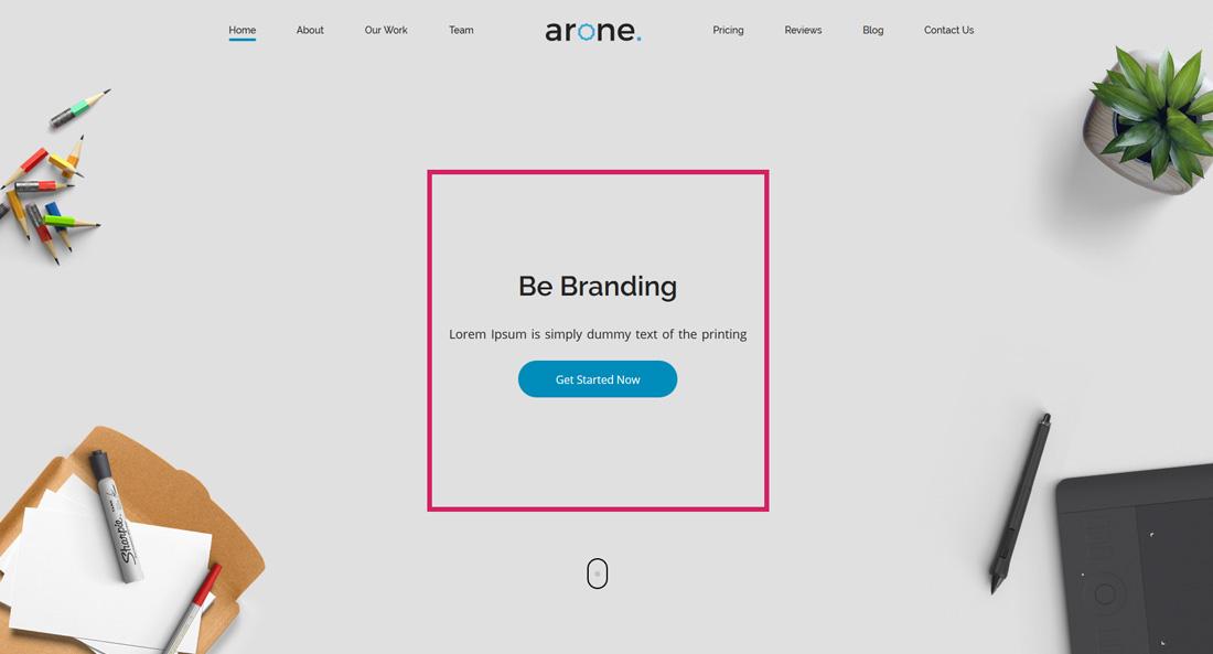arone-interactive-website-templates